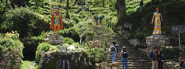 Escalinatas de Yumani